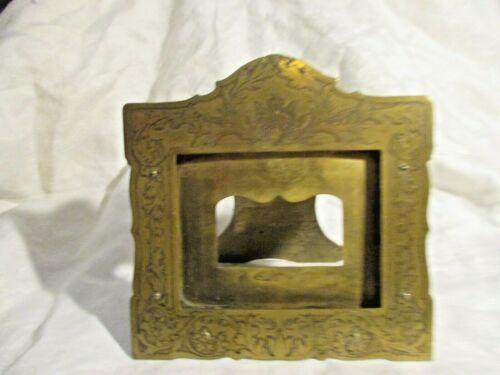 Tiffany Studios or Marshall Fields Calendar Holder Frame Art Nouveau Brass