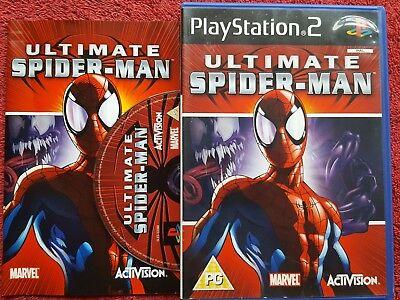 ULTIMATE SPIDER-MAN ORIGINAL BLACK LABEL SONY PLAYSTATION 2 PS2 PAL comprar usado  Enviando para Brazil