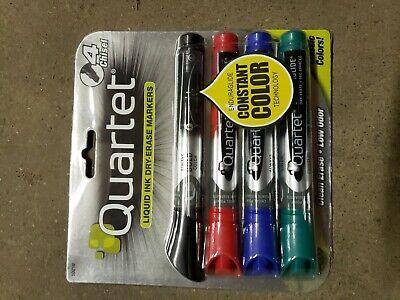 Quartet Enduraglide Dry-erase Markers Chisel Assorted Colors Pack Of 4