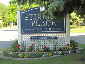 Stirling Place: Beautiful 1 Bedroom, Corner Unit w/Balcony!