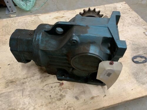 USED SEW-EURODRIVE 251:1 RATIO GEAR REDUCER K77R42DT90S4 SPEED REDUCER