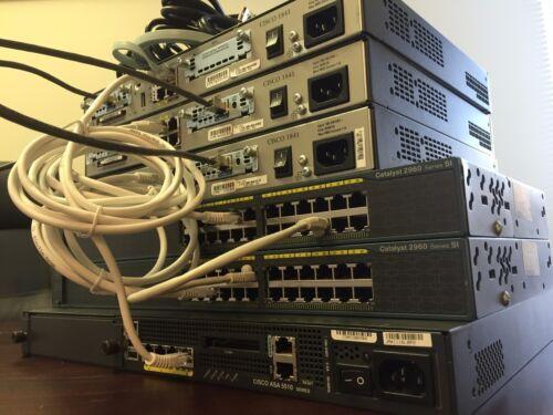 Cisco CCNA CCNP  SECURITY LAB ASA5510 FIREWALL