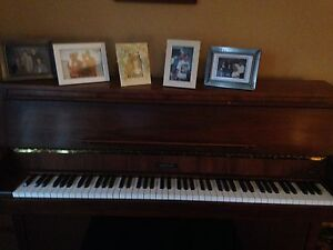 Piano and bench for sale.    SOLD. Thx to all who inquired.