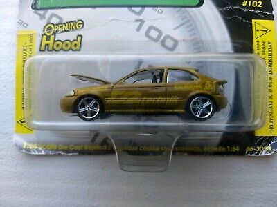 Revell The Fast and the Furious 102 Honda Civic 1/64 Scale Die Cast Car *NEW*