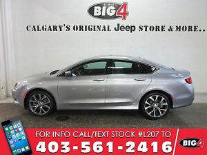 2016 Chrysler 200 C | DEMO | Panoroof | Heated Seats | Low KMS