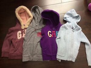 Girls size 2T sweaters