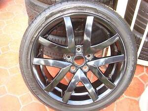 """1 only 19"""" Genuine Holden Black Rim 5 Stud x 120 PCD ! Green Valley Liverpool Area Preview"""
