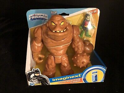 "NEW Imaginext DC Super Friends BATMAN ""Oozing Clayface & Robin"""