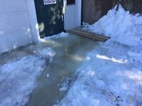 Driveway Ice Removal Needed