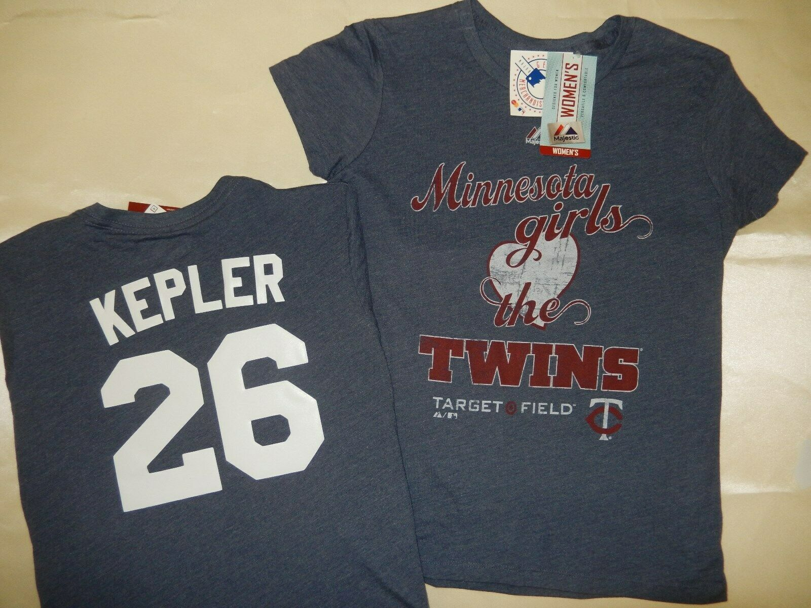 3520 Womens Minnesota Twins MAX KEPLER Baseball Jersey SHIRT