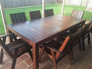 8 SEATER OUTDOOR SETTING Beaumont Hills The Hills District Preview