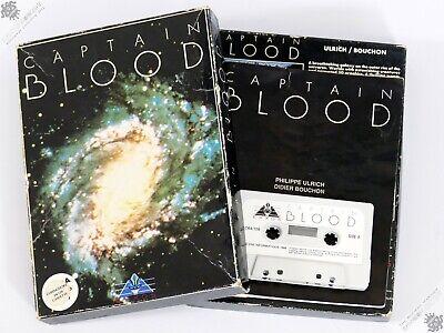 COMMODORE 64 C64 C128 CAPTAIN BLOOD BIG BOX VINTAGE COMPUTER GAME SCI-FI EXXOS