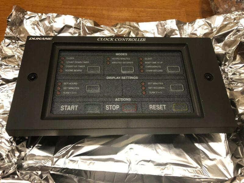 DUKANE Digital Clock Controller 24CC10 ELECTRONIC CONTROL BOARD PANEL PUSH USE