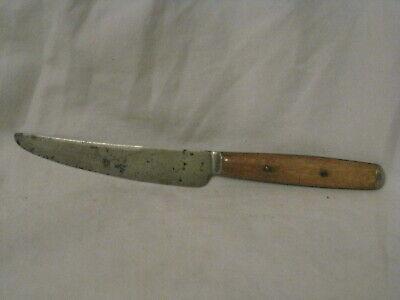 vintage John Primble India Steel Works knife fixed blade full tang bone handle
