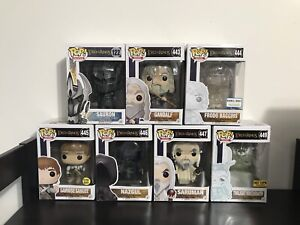 Funko POP! Lord of the Rings commons and Exclusives