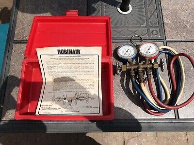 Robinair Refrigeration Manifoldhosescasedirectionspreowned