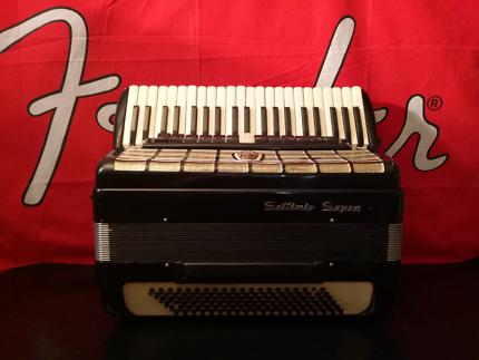 Settimio Soprani 120 Bass piano accordion Italian Made