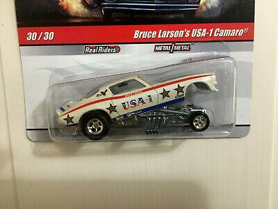 Hot Wheels Drag Strip Demons Bruce Larson's USA-1 Camaro Funny car
