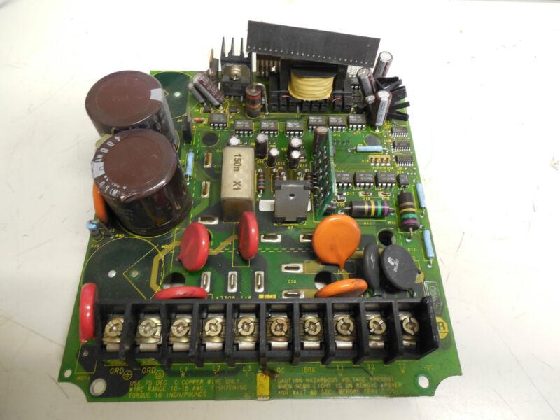 ALLEN BRADLEY POWER PCB DRIVE CIRCUIT BOARD 1HP 460V 42305-118-52 4230511852 F