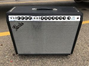 Fender twin silver face trade for Dr Z