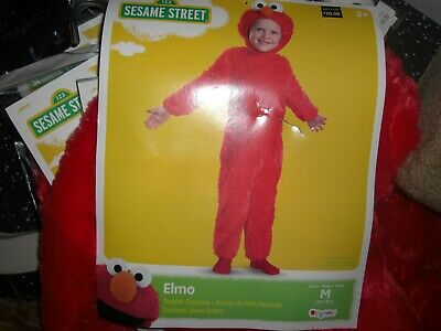 NEW SESAME STREET ELMO Halloween Costume FREE SHIPPING! TODDLER 2T OR