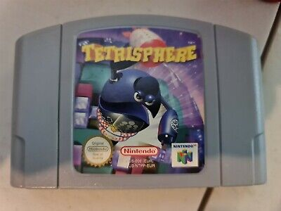 Tetrisphere for Nintendo 64 N64. Cart Only. Pal