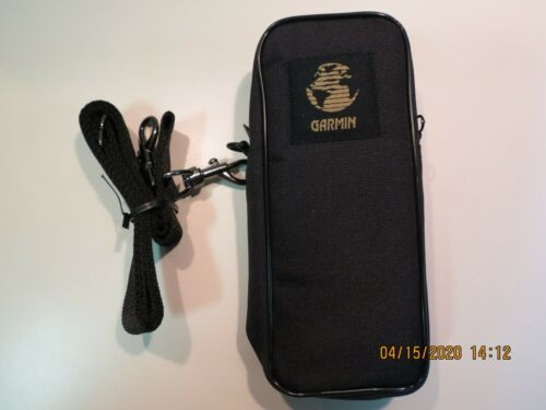 Garmin GPS Universal Soft Carrying Case w. Shoulder Strap. Excellent.