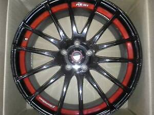 """SPEEDY RS 'FIN'  20"""" INCH RED/BLACK suit Commodore- RIMS ONLY Hobart CBD Hobart City Preview"""