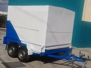 Fully enclosed 8x6 Tandem Trailer with fold down ramp Campbellfield Hume Area Preview