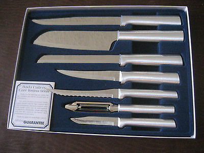 RADA CUTLERY S38 STARTER 7 PC KNIFE SET THE PERFECT GIFT ANYTIME MADE IN THE USA
