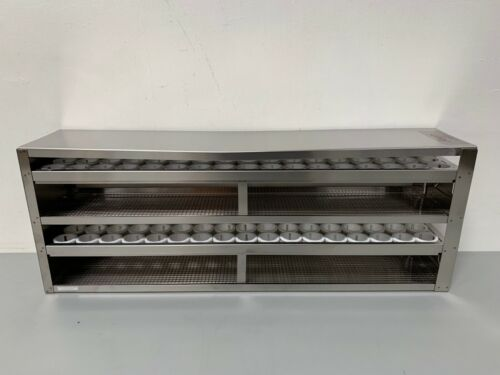Argos R50102A Upright Freezer Drawer Rack for 50mL Tubes, Holds 102