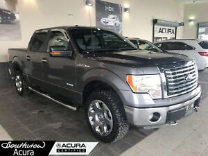 2012 Ford F-150 SuperCrew Cab, All Wheel Drive, Premium Audio, M