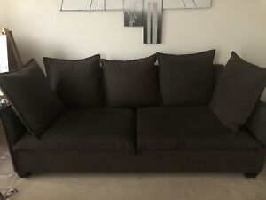 Lucille Charcoal Sofa