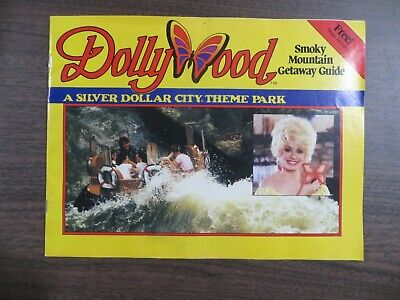 Dolly Parton 1986 Dollywood Smoky Mountain Getaway Guide Vintage