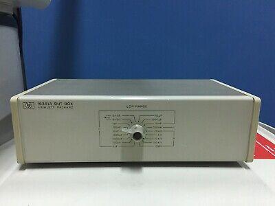 Hpagilent 16361a Dut Box 120hz-1khz Lcr Meter Test Box