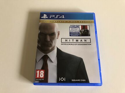 PS4 HITMAN!! ( NEW CONDITION)