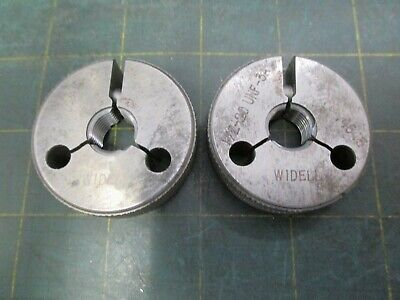 Machinist Tools Ring Thread Gage Widell 12 - 20 Unf 3a