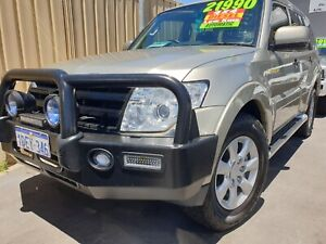 2009 Mitsubishi Pajero turbo diesel platinum edition Wangara Wanneroo Area Preview