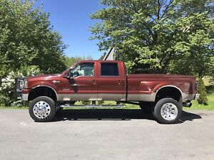 2007 Ford F-350 king ranch dually