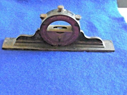 ANTIQUE L DAVIS ADJUSTABLE  MANTLE CLOCK SPIRIT LEVEL PATENT SEPT 17 1867