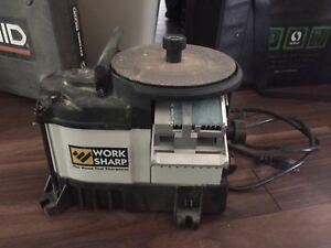 Wood tool and knife sharpener