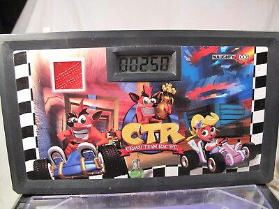 coot Team Racing Electronic Pinball Tabletop Machine WORKS (Electronic Pinball Machine)