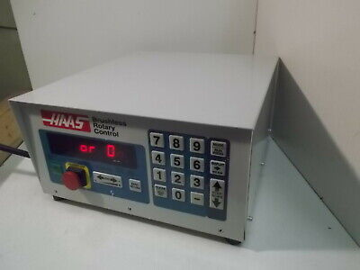 New Haas Scc-ac 175servo Control 4th Axis Rotary Control
