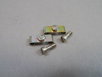 Lot Of 35 Pair Amphenol M2430825-9 Male D-sub Connector Screw Lock Assembly