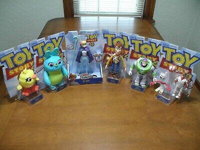 Toy Story 4 Action Figure Posable Forky Woody Bo Buzz Duke Lot of 6 Bundle for sale  Shipping to India