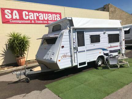2003 JAYCO HERITAGE 17' with AIR COND. and ANNEX WALLS Klemzig Port Adelaide Area Preview