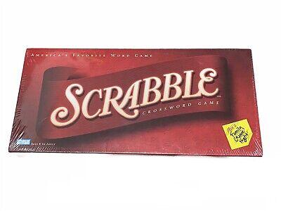 (BRAND NEW & SEALED) 2001 HASBRO SCRABBLE BOARD GAME GREAT CROSSWORD ORIGINAL