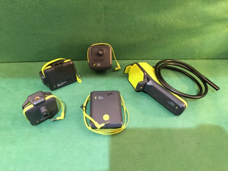 Ryobi PhoneWorks 5-Tool Combo Kit  ~  Excellent Condition  ~   Free Shipping