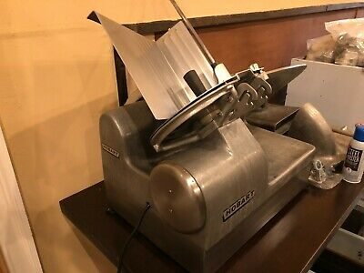 Hobart 1712e 1712 Automatic Restaurant Commercial Deli Meat Slicer Working Good