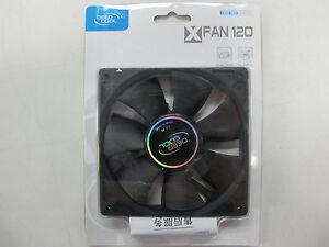 1x DEEPCOOL XFAN 120mm Case Fan - Molex power - Screws            **BEST PRICE**